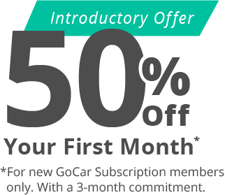 GoCar subscription offer