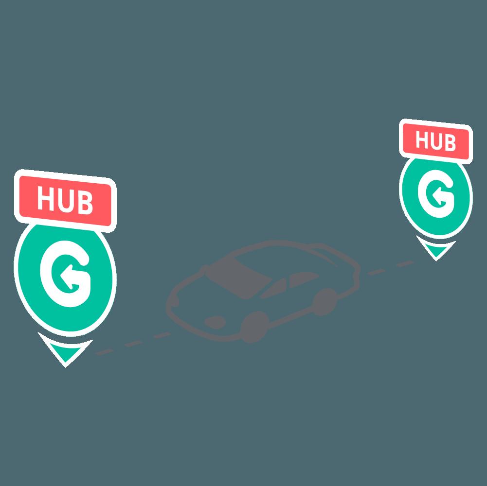 GoCar Malaysia One-Way Trip
