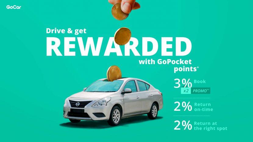 GoCar drive and get rewarded