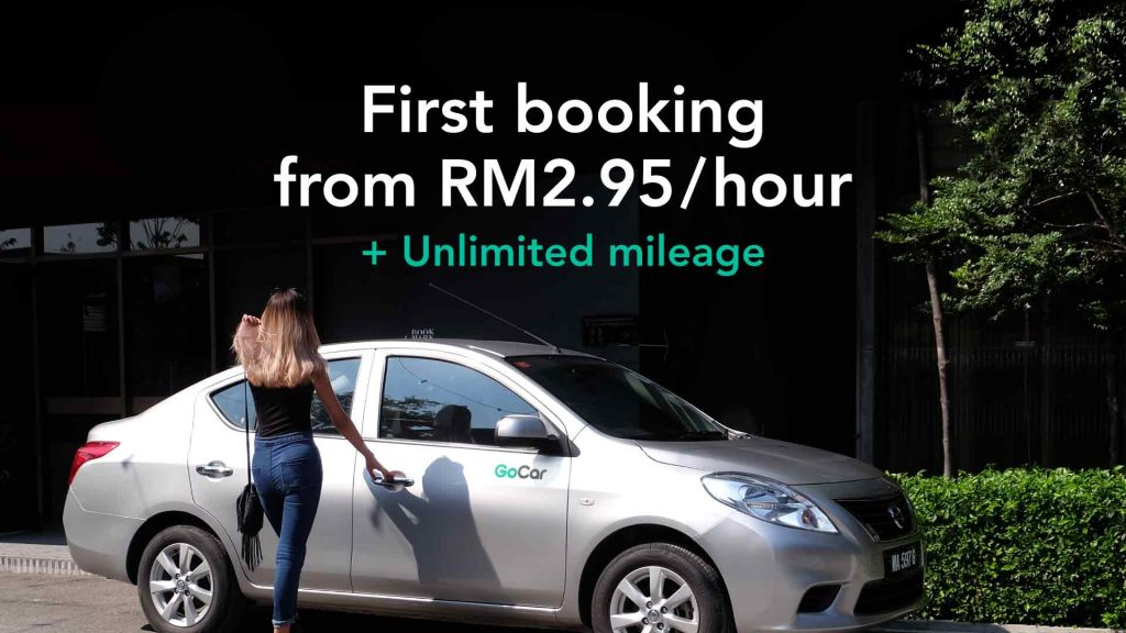 New to GoCar RM2.95/hour