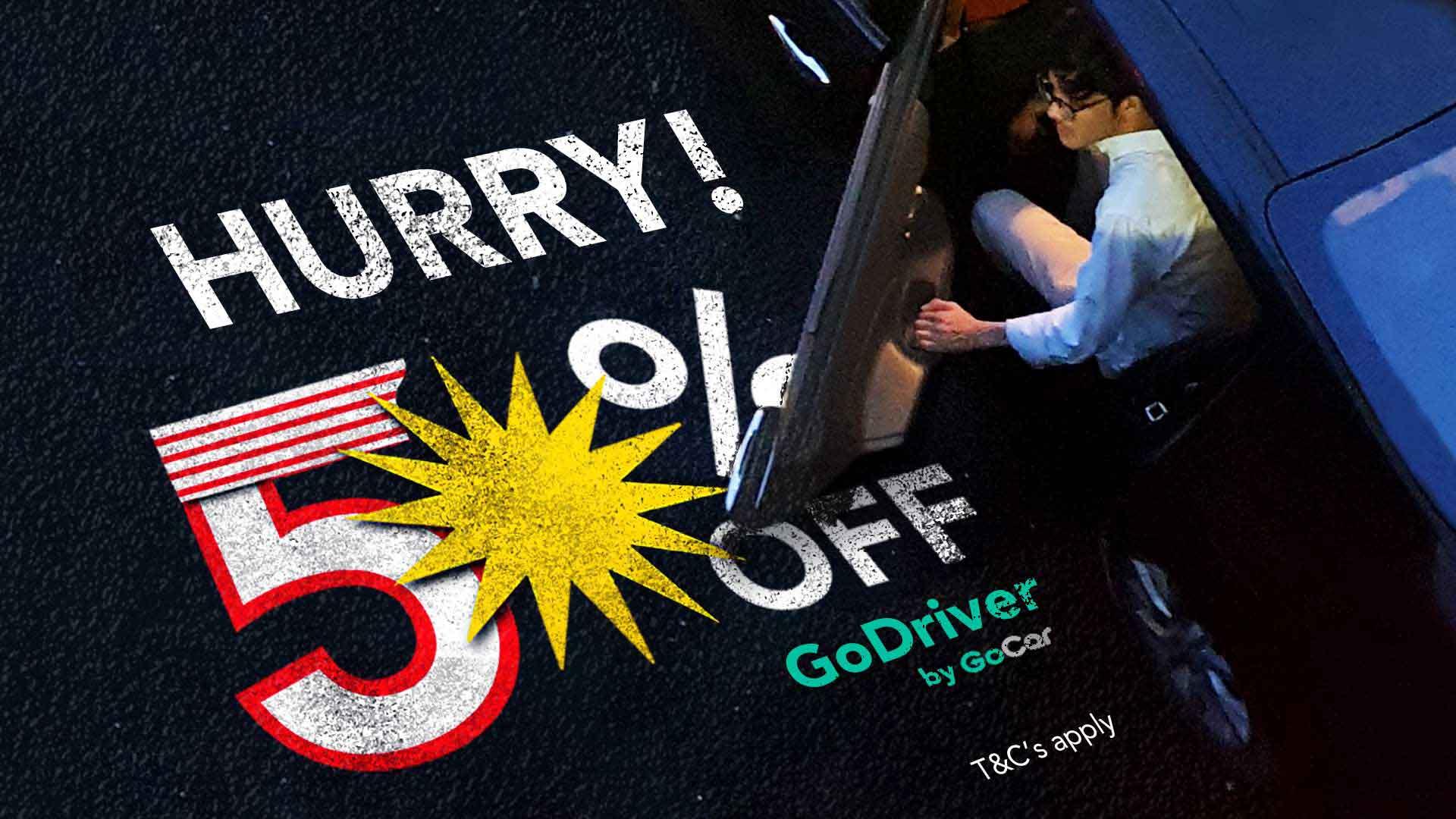 GoDriver 50 Merdeka Promo