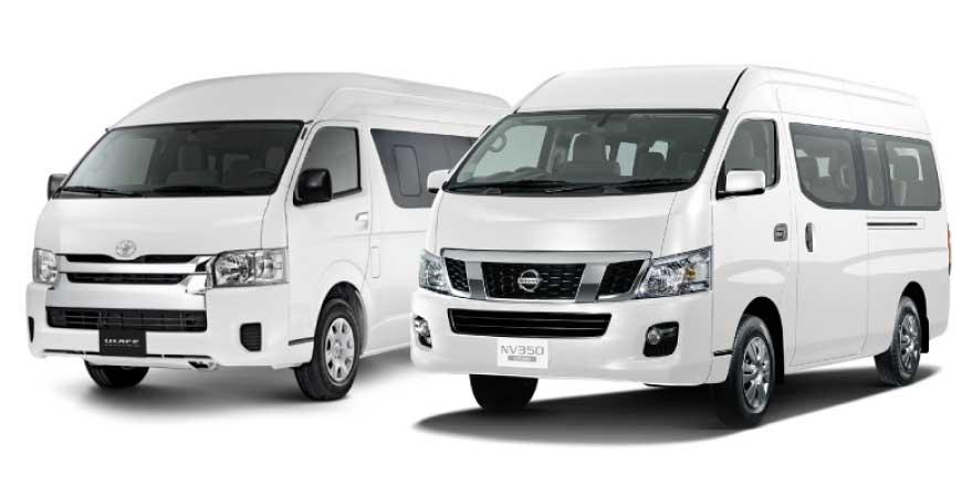 GoDriver Toyota Hiace Nissan NV 350