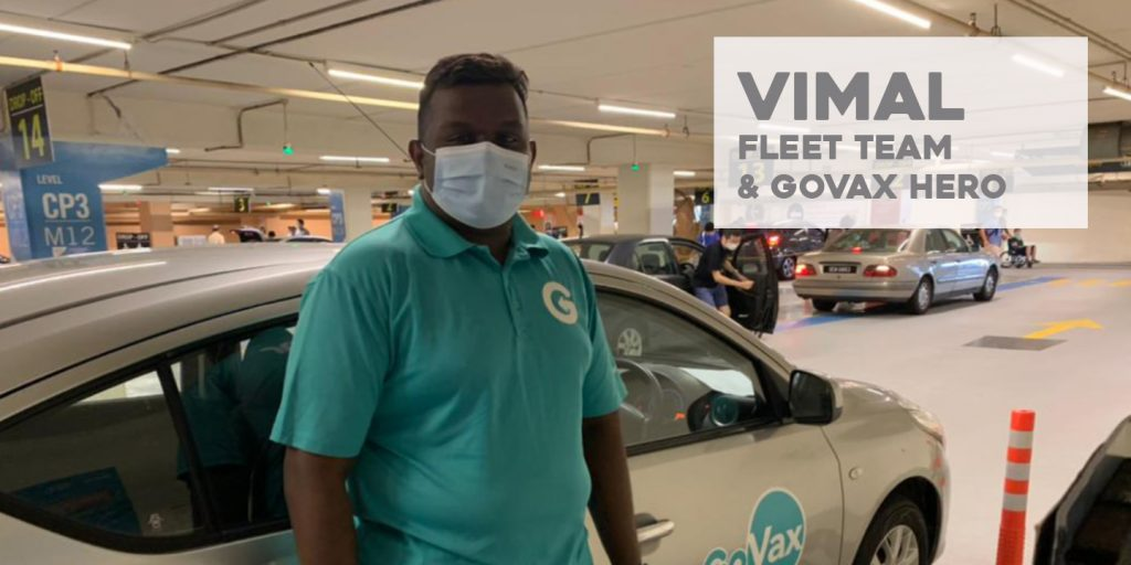 """The feeling of being valued in a company is one thing, but feeling valued by the community, especially by the elderly is something that I definitely felt while driving the senior citizens to their vaccination centres. They would genuinely thank me for being of service, which gives me this """"feel good"""" feeling"""