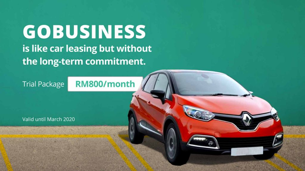 GoBusiness Trial Package RM800/month